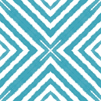 Экзотический бесшовный образец. бирюзовый симметричный фон калейдоскопа. текстиль готов, великолепный принт, ткань для купальных костюмов, обои, упаковка. летние купальники экзотического бесшовного дизайна.