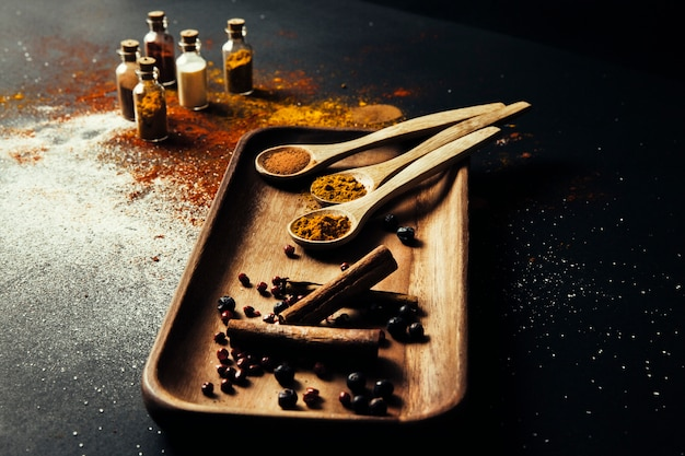 Exotic spices composition