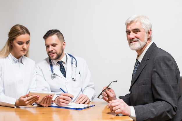 Expertise blood visit beard arm man
