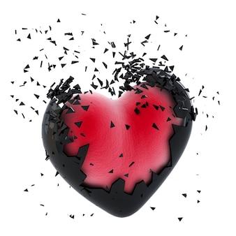 폭발하는 심장. 외딴