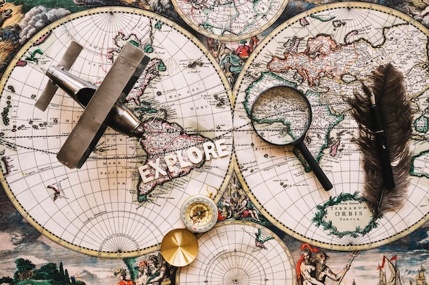 Explore writing near tourist stuff