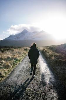 Exploring glen etive in scotland