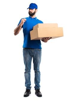 Espressione espresso accordo pacchetto positivo Foto Gratuite