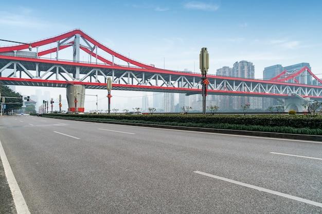 Expressway and tiejia bridge in chongqing, china
