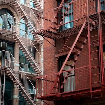 Exterior of buildings in manhattan, new york city, u.s.a.
