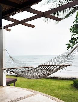 Exteriors of a luxury resort