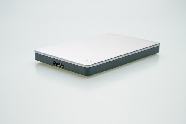 External hard disk isolated