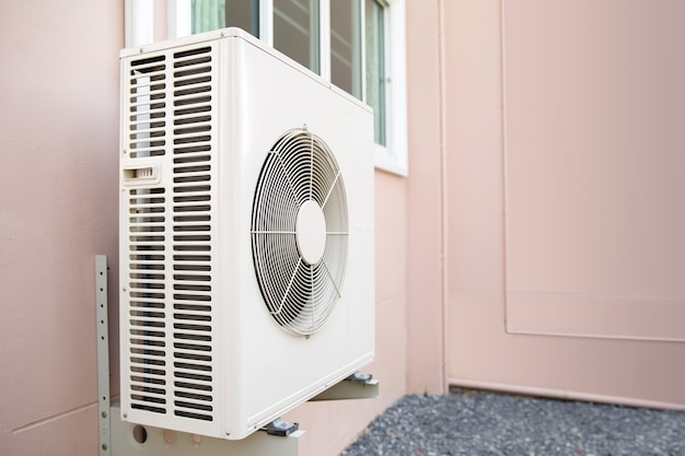 外壁分割型外気圧縮機。
