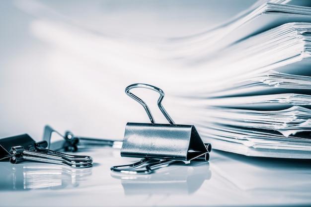 Extreamlyペーパークリップフォルダ、ヴィンテージ共同でオフィス作業文書のスタッキングを閉じます