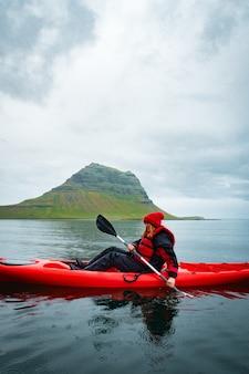 Экстремальный приключенческий спорт исландия каякинг гребля на байдарке ou