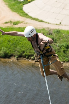 Extreme ropejumping event