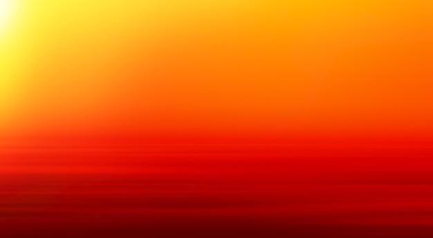 非常に暑い砂漠の地平線の背景高解像度