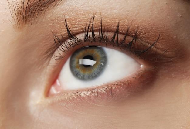 Eye close up, this is a macro shot