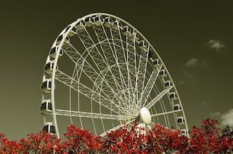 Eye urban color york wheel city england colorful