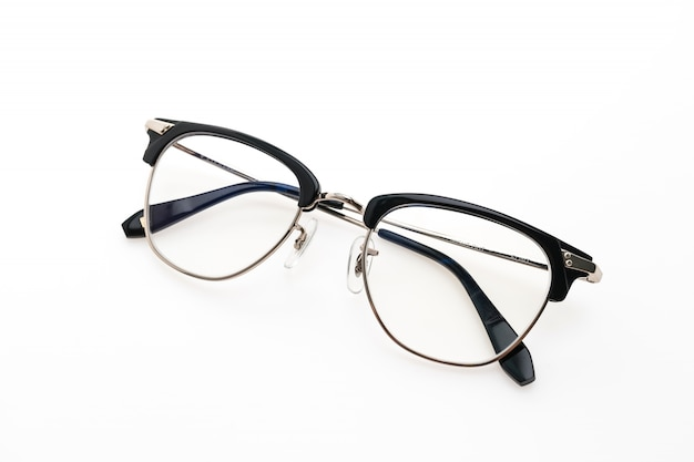 안경 착용