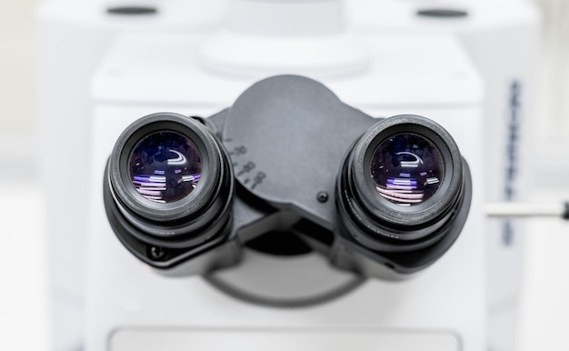 Eyepieces of stereo microscope