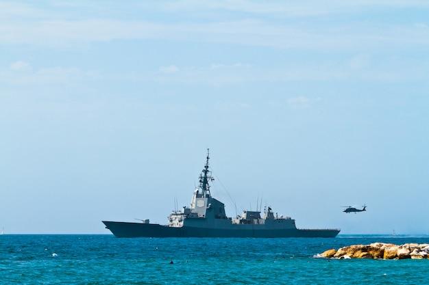 フリゲート艦f-101アルバロ・デ・バザン