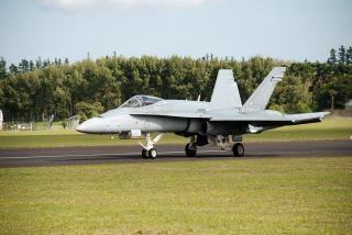 オーストラリアの空軍力f18のスズメバチ