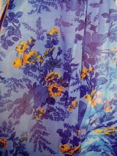ファブリックフルカラーのデザインは、紫色の新鮮な