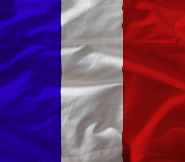 Fabric france flag