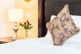 Fabric mattress modern background sleep