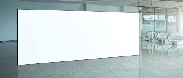 Fabric pop up basic unit advertising banner media display backdrop, empty background