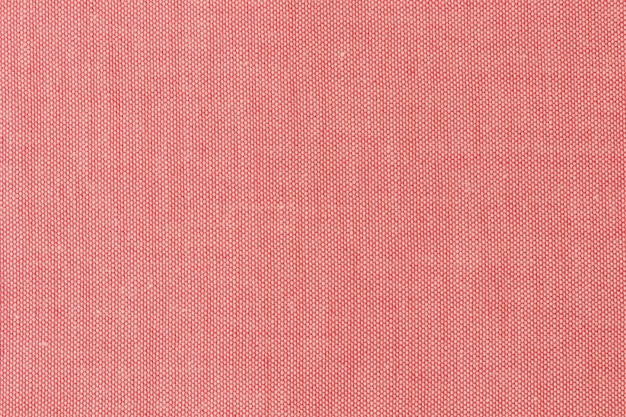 Fabric red texture background