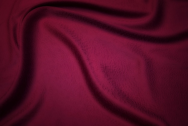 Fabric texture, background for design. texture of red silk or cotton or wool fabric. beautiful pattern of waven fabric.