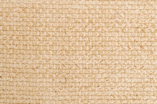 Текстура ткани фон обои, бежевый естественный оттенок