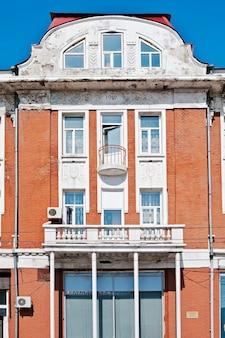 歴史的建造物のファサード