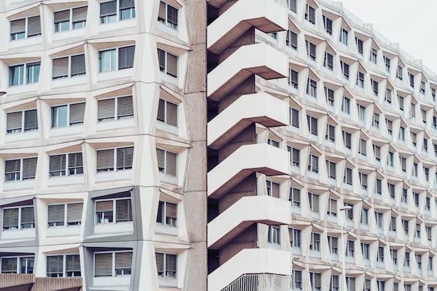 Facciata di un edificio residenziale