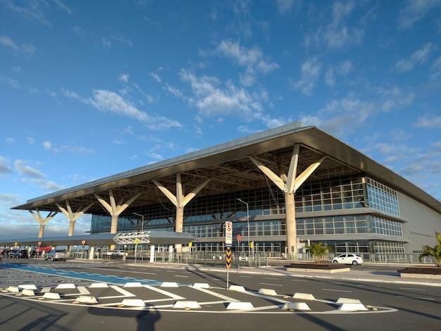 Facade of viracopos international airport, in campinas.