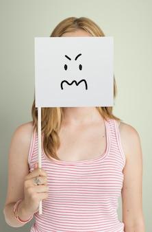 얼굴 표정 일러스트 감정 감정