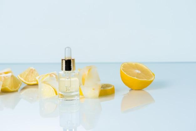 Сыворотка для лица с лимоном