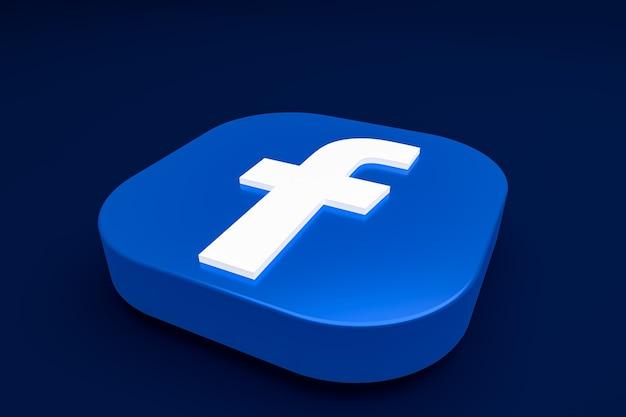 Facebookの3dロゴ