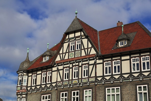 독일 goslar 시의 fachwerk 집