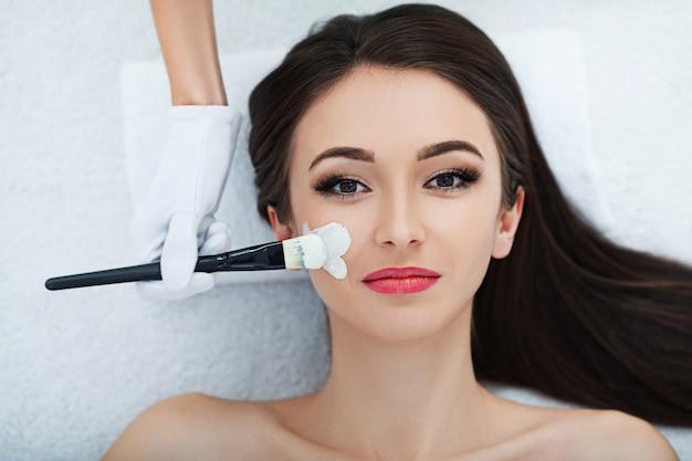 Facial skin care.