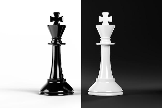 Облицовка шахматных перегибов, изолированные на черно-белом фоне.