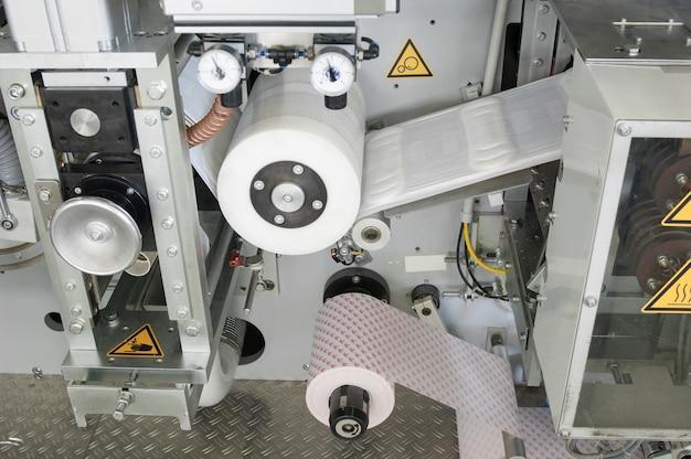여성용 생리대 생산을 위한 공장 및 장비 여성용 위생 패드