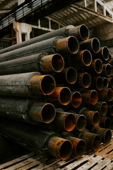 パイプ用断熱材製造工場