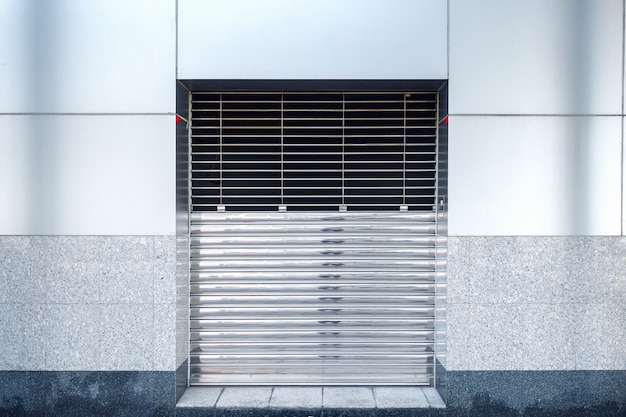 Factory shutter roller door indoor