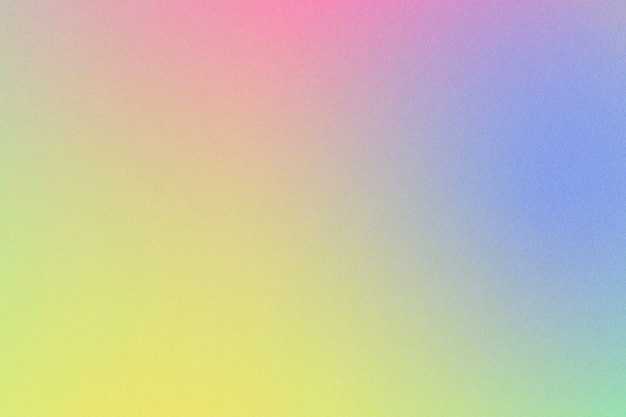 Faded yellow blue and pink abstract gradient texture background
