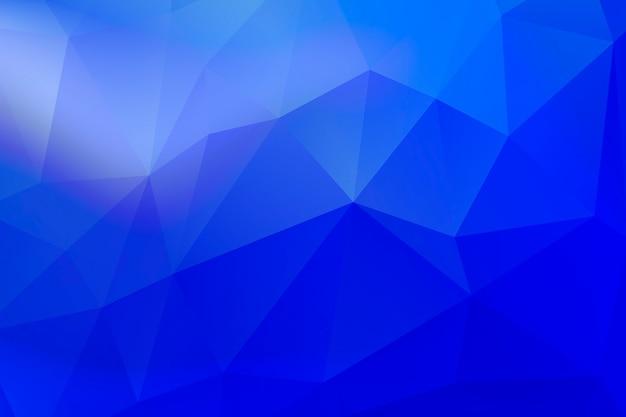 Выцветание полутонов с геометрическим рисунком на синем фоне