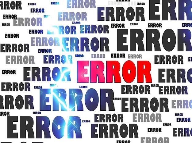 Fallimento problema di crash del computer di errore falso falso