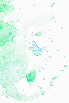 Faint green water color backdrop