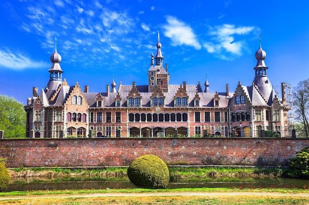 Сказочные замки серии бельгия, оойдонк, восточная фландрия