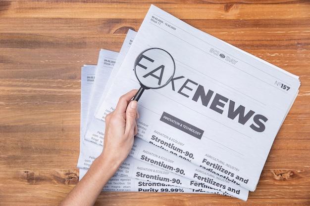 Falso concetto di notizie