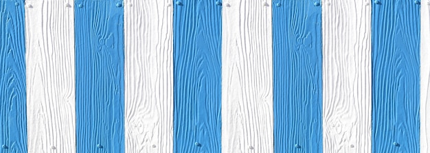 Fake wood texture with white and blue accents