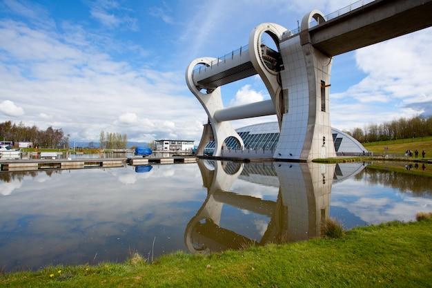 Falkirk wheel, scotland uk