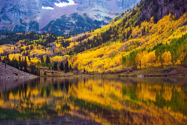 Fall in the colorado